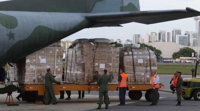 A aeronave chegou ao Recife por volta das 17h desta quarta-feira (1º) - FOTO: BOBBY FABISAK/JC IMAGEM