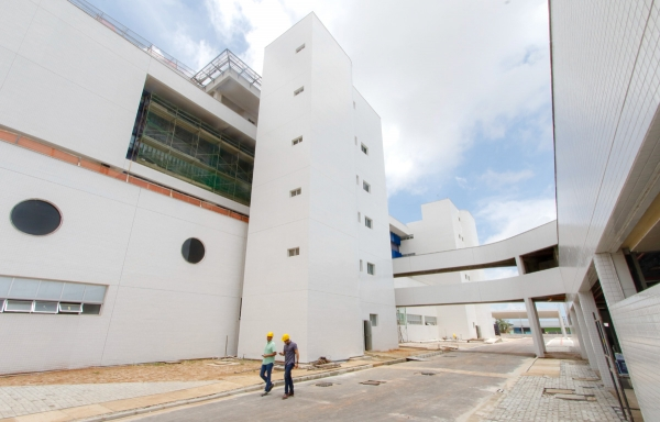 Estado antecipa abertura do Hospital Metropolitano para conter Covid-19 em Alagoas Foto:Thiago Sampaio