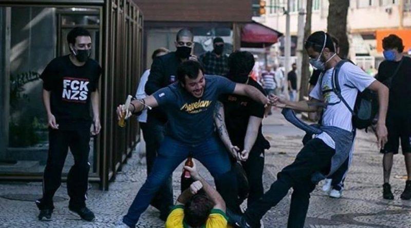 ataque covarde a bolsonarista