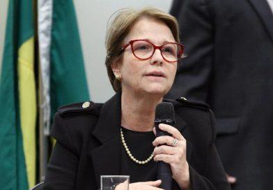Ministra Tereza Cristina participa do lançamento da campanha #Mulheres Rurais, mulheres com diretos