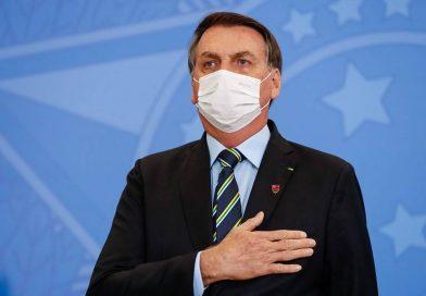 Presidente Bolsonaro testa positivo para Covid-19